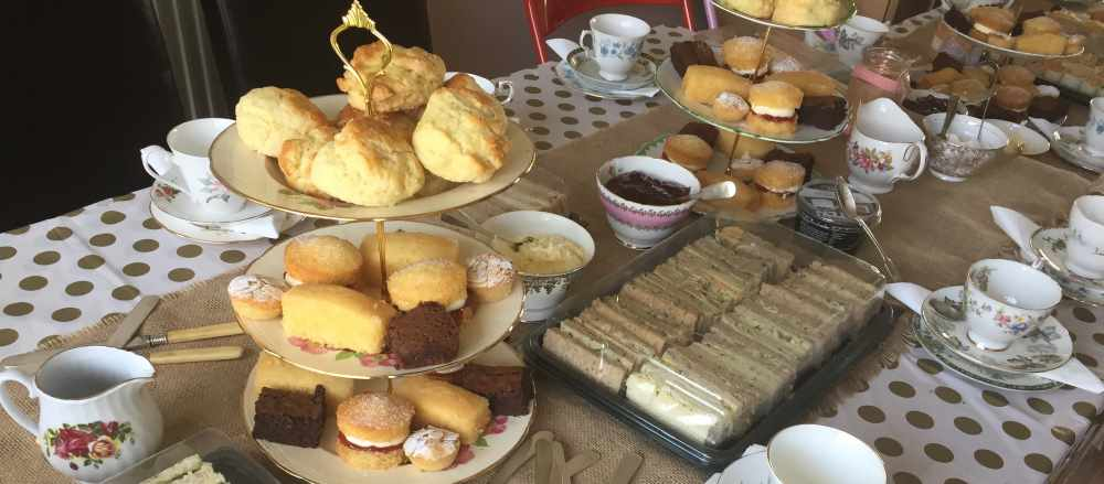 Just Wright Catering - Vintage Afternoon Tea Parties for